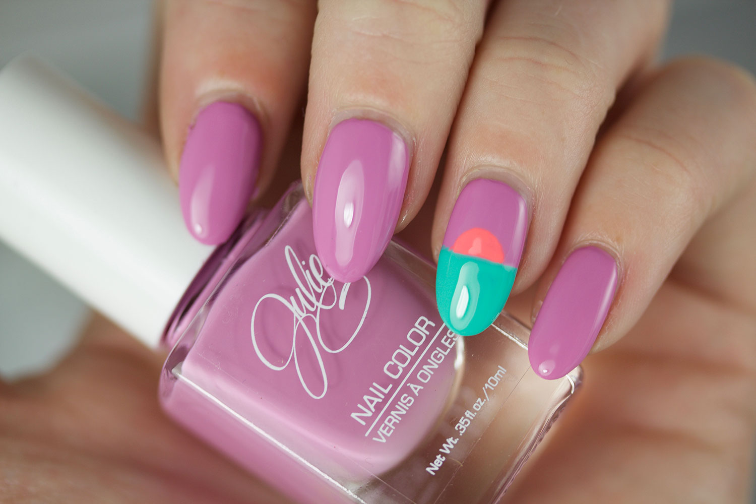 The Daily Nail, Jesse's Girl, Julie G, Dream in Pretty, Swatch