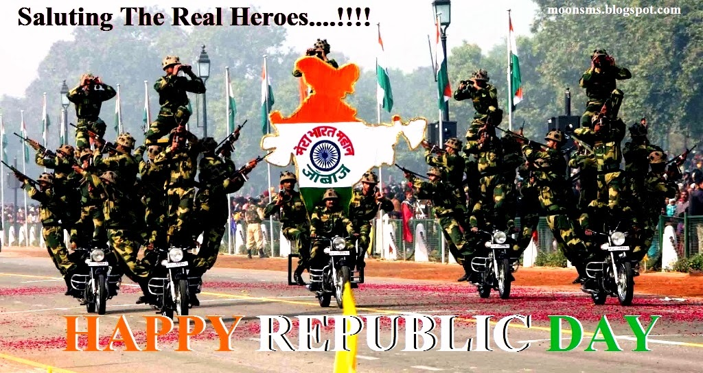 HAPPY REPUBLIC DAY 2014 HAPPY 26 JANUARY INDIA SMS TEXT MESSAGE WISHES QUOTES IN ENGLISH HINDI GREETINGS CARD, IMAGES, PICTURE, SCRAPS, GRAPHIC, PHOTO, ANIMATED GIF PICTURES HD WALLPAPER