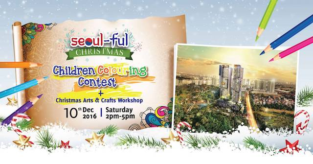 Children Colouring Contest @ SkyWorld Property Gallery, Bukit Jalil This Weekend
