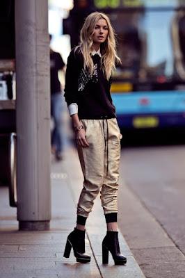 pantalones para mujer con pinzas