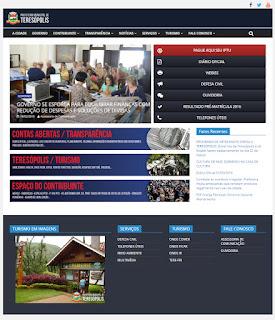 Novo site da PMT destaca prestação de contas para população