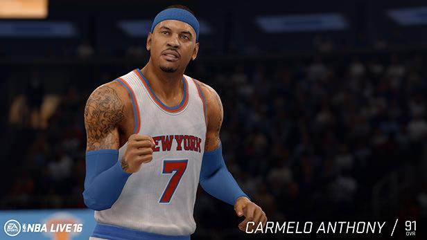 NBA Live 16 Carmelo Anthony