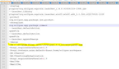 Eclipse Error Fixed - Java was started but returned exit code\u003d13