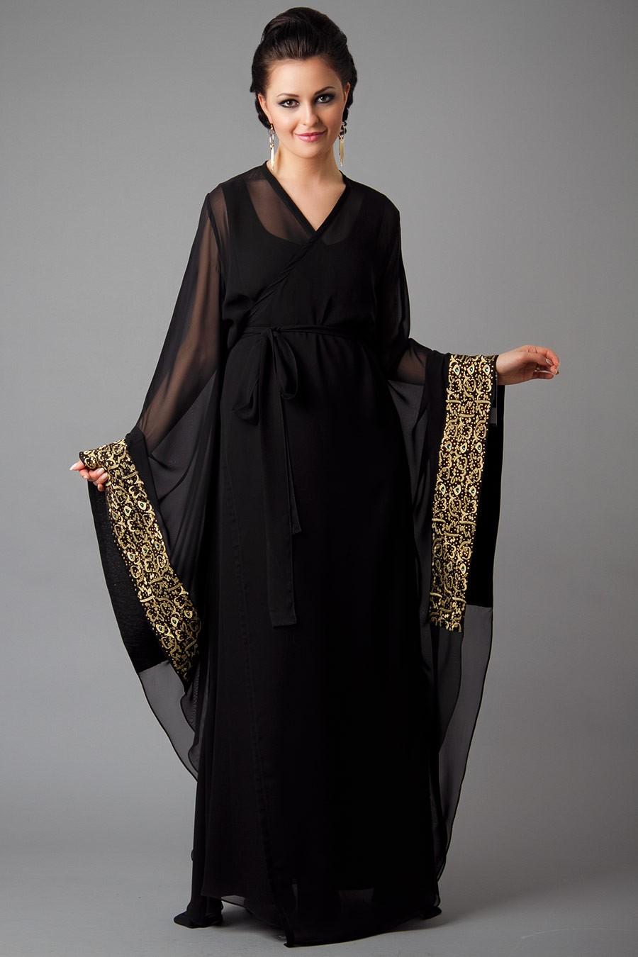 Designer Embroidered Abaya Collection 2013-2014