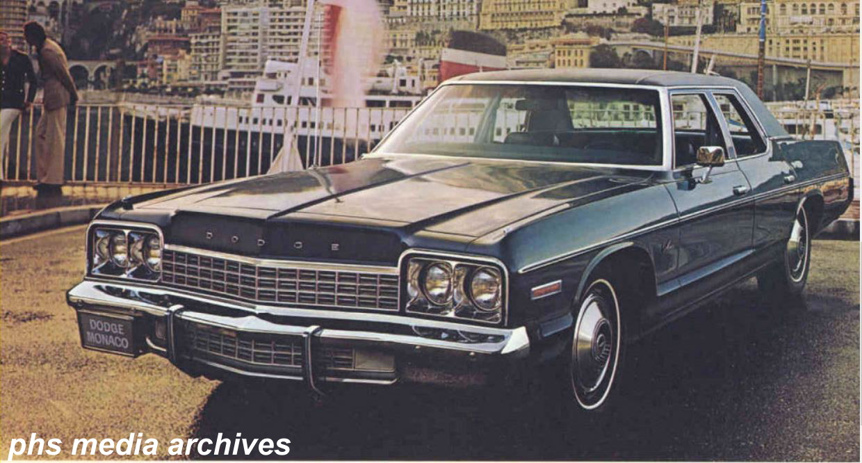 Cop Cars 1973 4 Dodge Polara Phscollectorcarworld 1964 Police Car Cant Find A Genuine Try Looking For Monaco Sedan With The Heavy Duty Trailer Towing Package Its Good Second Choice