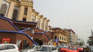 Precisly called: La mosquée du Plateau sur