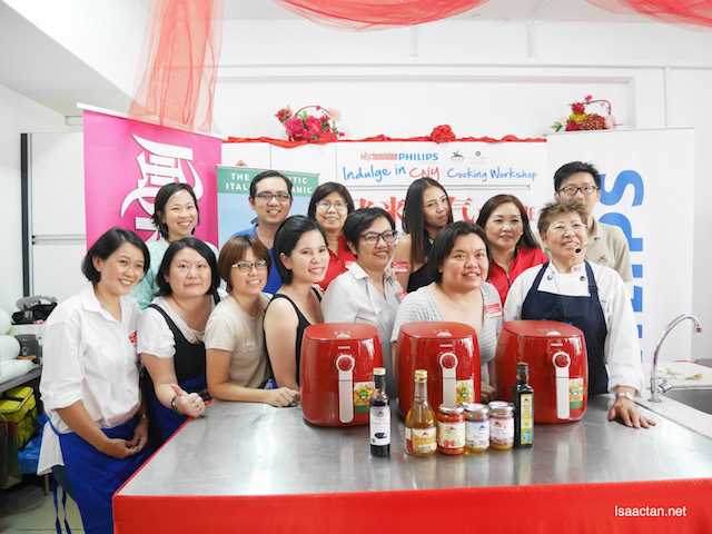 All the winners at Philips Malaysia's Indulge in Chinese New Year Cooking Workshop