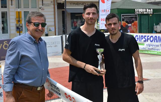 Με μεγάλη επιτυχία το 3ο τουρνουά Foot Tennis στο Άργος