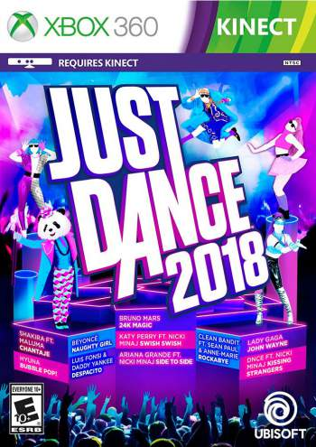 Just Dance 2018 PT-BR (LT 3.0 e JTAG/RGH) Xbox 360 Torrent