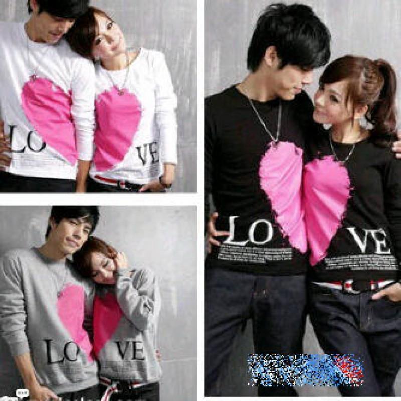 Jual Online LP Valentine Couple Jakarta Bahan Combed Terbaru