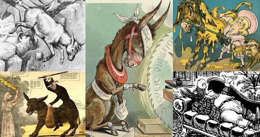 Innovation Design In Education - ASIDE: Teaching With Cartoons - A Visual History Of Donkeys, Elephants, Parties, & Politics