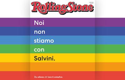 Rolling Stone si schiera contro Salvini