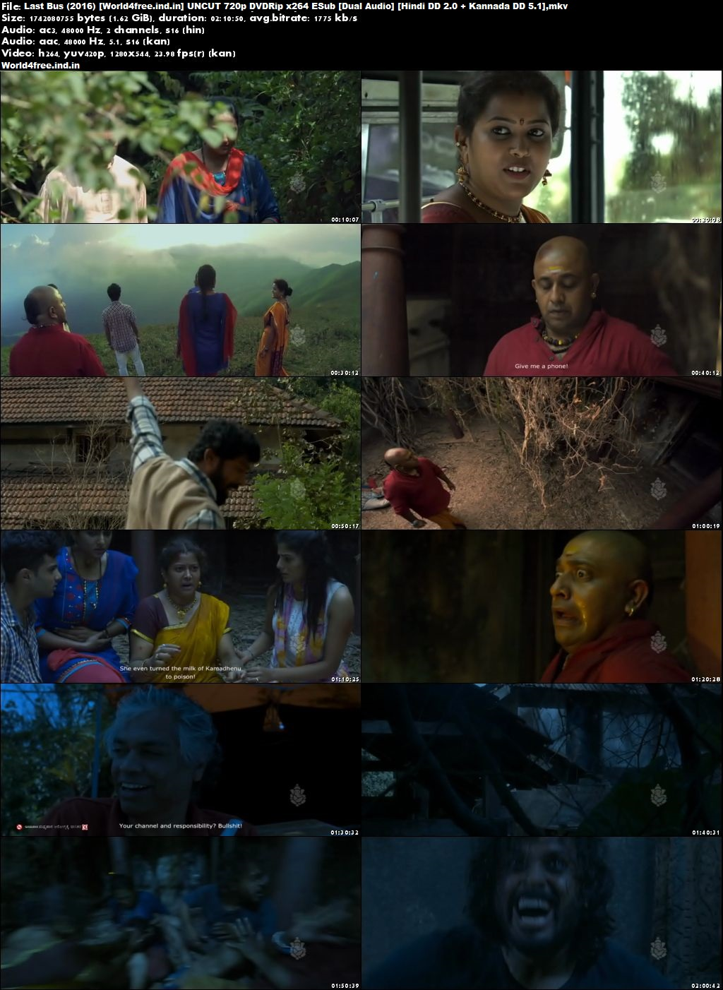 Last Bus 2016 worldfree4u Hindi Dubbed Movie Download 720p Dual Audio