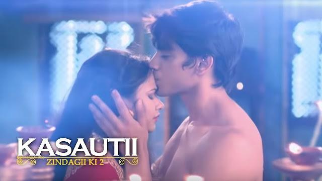 OH NO Anurag Prerna caught red handed romancing in Kasauti Zindagi Kay