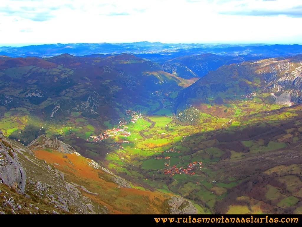 Rutas Montaña Asturias: Foto del valle del Trubia