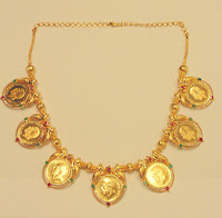 Gold Dollar Necklace - Jewelry pattern