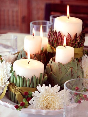 decorology: Simple but beautiful Thanksgiving decorating ideas...