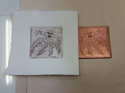 nontoxic printmaking copper plate etching