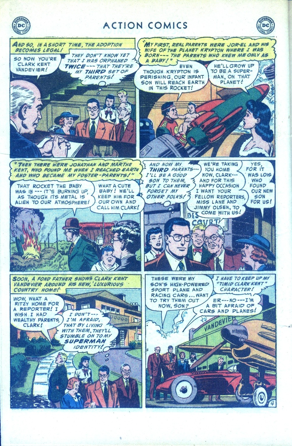 Read online Action Comics (1938) comic -  Issue #189 - 6