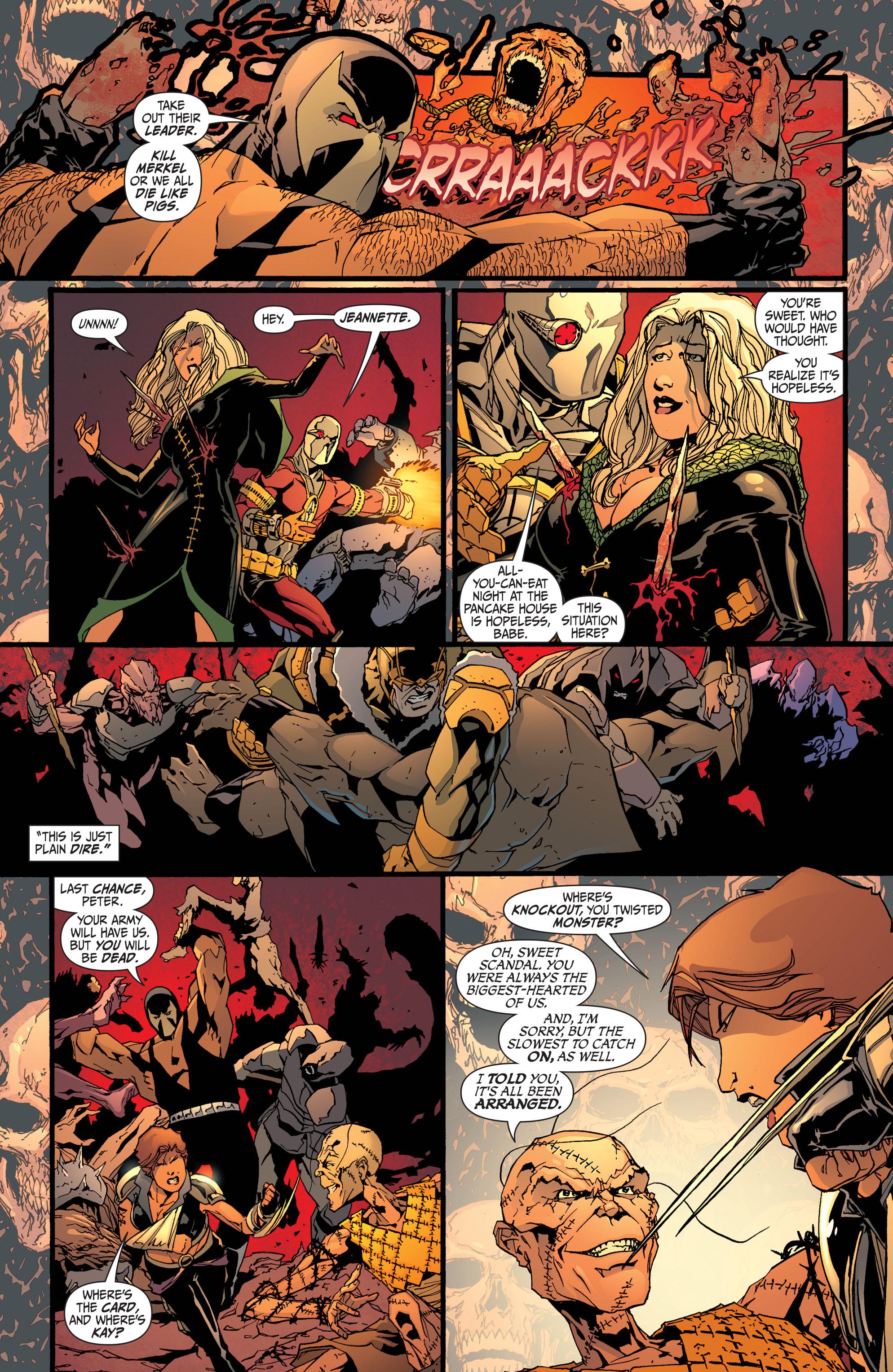 Read online Secret Six (2008) comic -  Issue #32 - 18