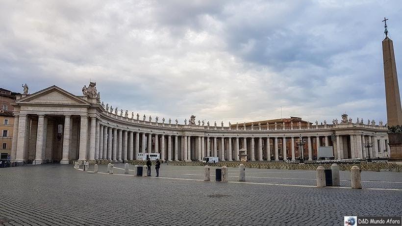 Praça São Pedro - o que fazer no Vaticano
