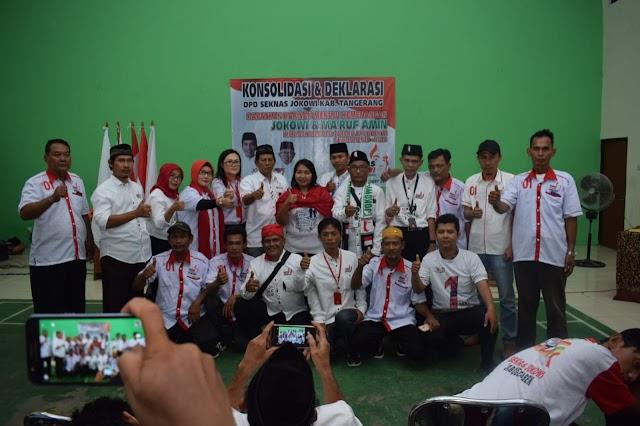 DPD Seknas Kabupaten Tangerang Siap Menangkan Jokowi - Ma'ruf Amin