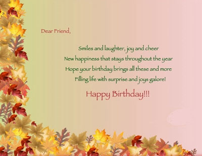 Happy Birthday Wishes | Quotes | Messages and Images from Boy to His Best Friend Girl