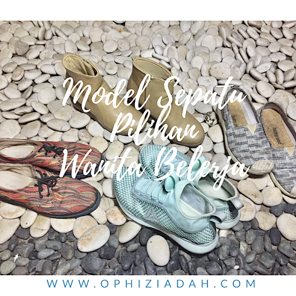 Model Sepatu Pilihanku Sebagai  Wanita Bekerja