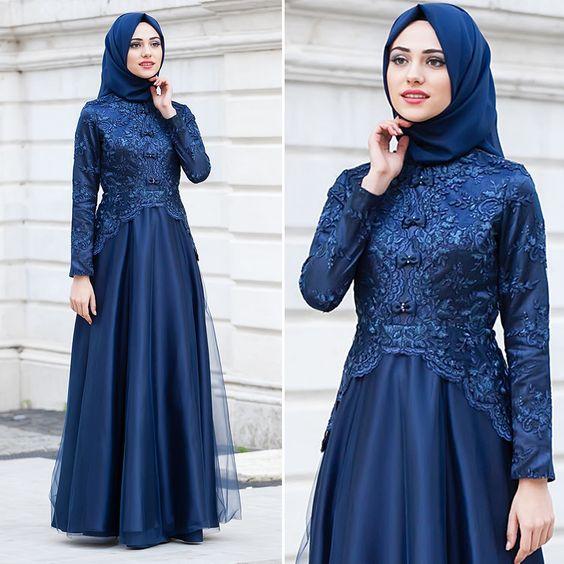 Busana Muslim Mewah Dan Elegan Model Baju Trend 2019