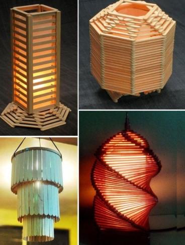 Kerajinan Hiasan lampu