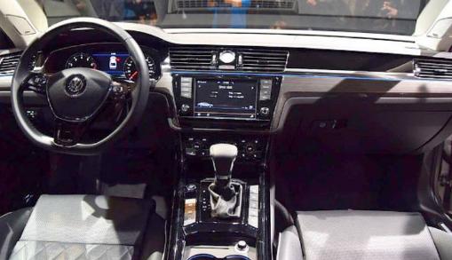 2018 Volkswagen Phideon Interior