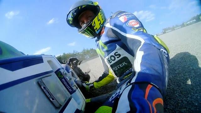 berita motogp : Gagal di Motegi, Rossi : Itu salah saya
