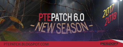 PES 2017 PTE Patch 2017 6.0 AIO
