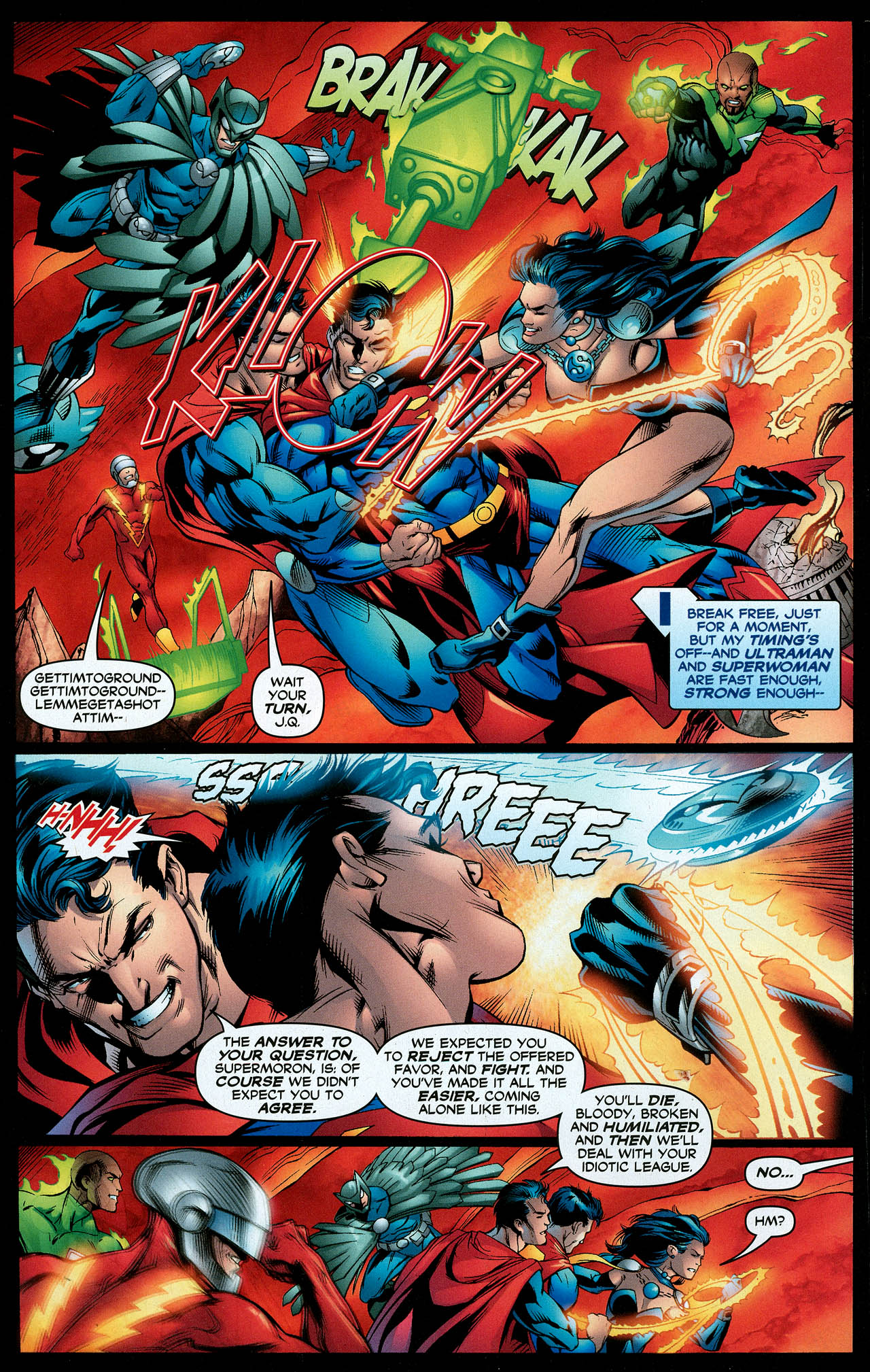 Read online Trinity (2008) comic -  Issue #12 - 10