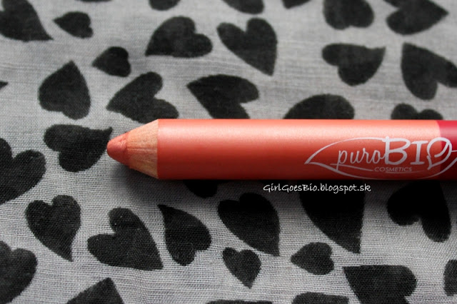 PuroBIO duo ruz v ceruzke day and night coral pink