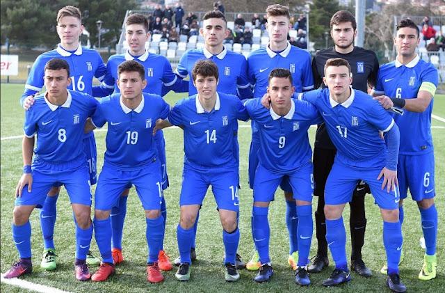 Διεθνή φιλικά μεταξύ των ομάδων U17 Εθνικής Ελλάδας -Εθνικής Σλοβενίας