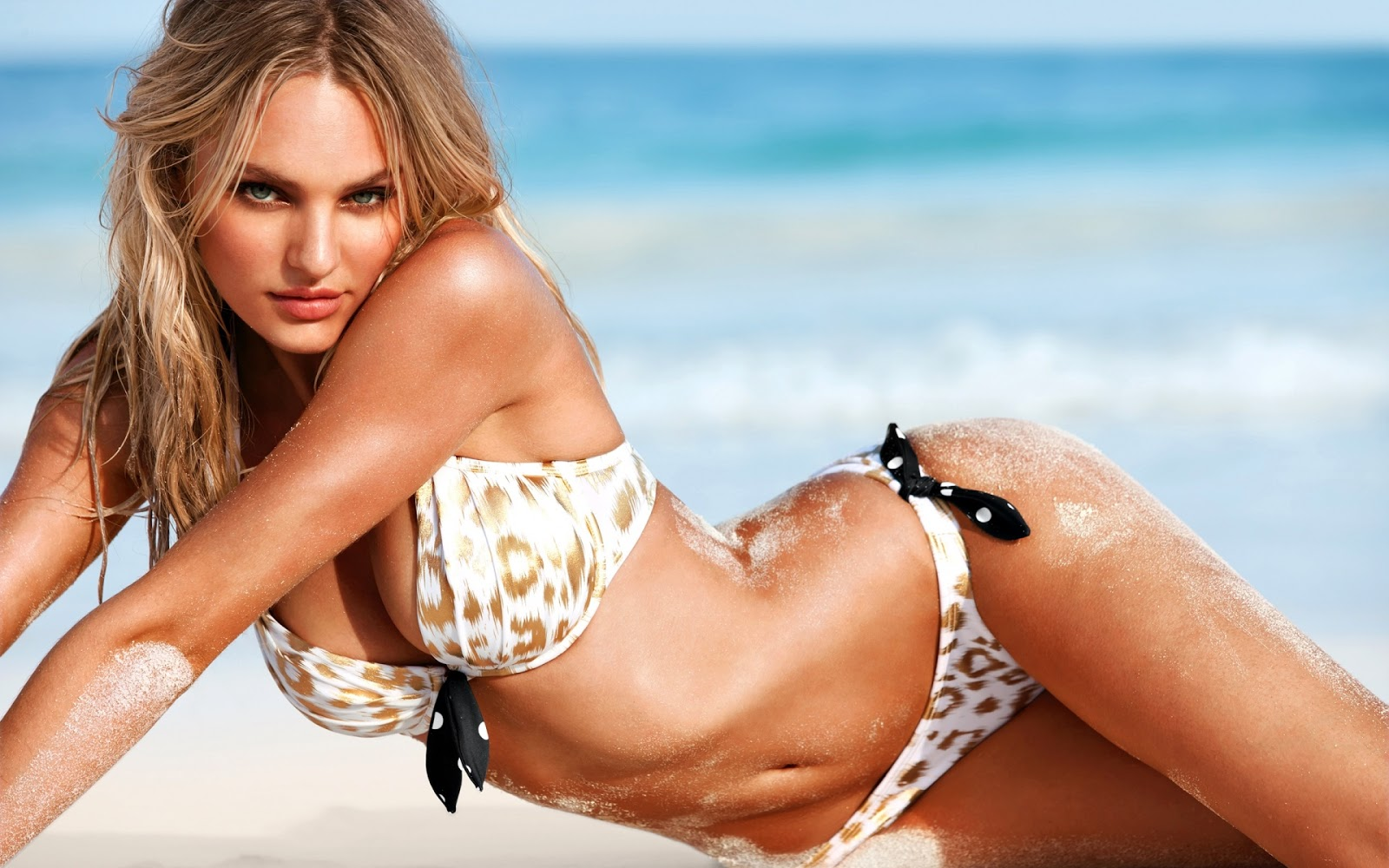 La modelo Candice Swanepoel. FOTO: Especial