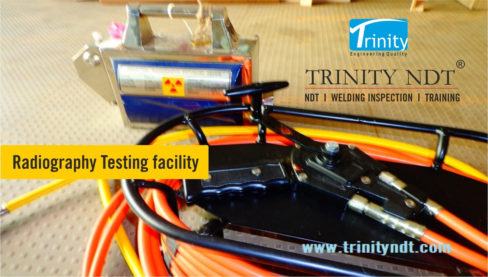 Radiography xray testing Labs- Trinity NDT, NABL Accredited NDT Labs