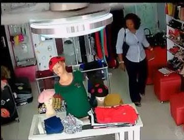 Lady Arrested After She Was Caught Stealing At A Supermarket