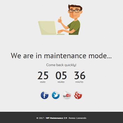wordpress-maintenance-plugin