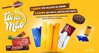 Promoção Amori Richester Tá na mão Porta-Cartão