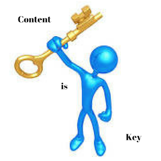 Content is key to blog success