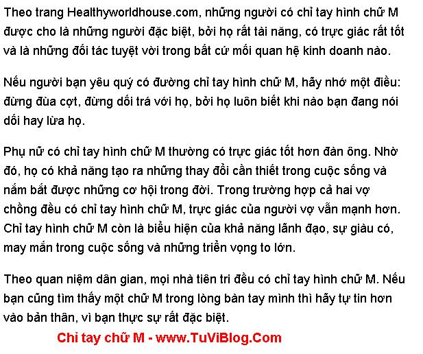 Chi Tay Chu M