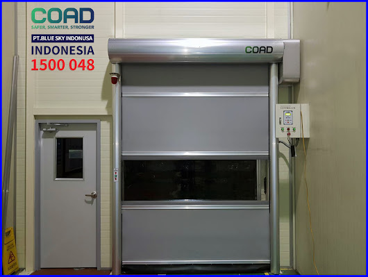 COAD Auto Door High Speed Doors Can Be Used In Various Types od Industrial