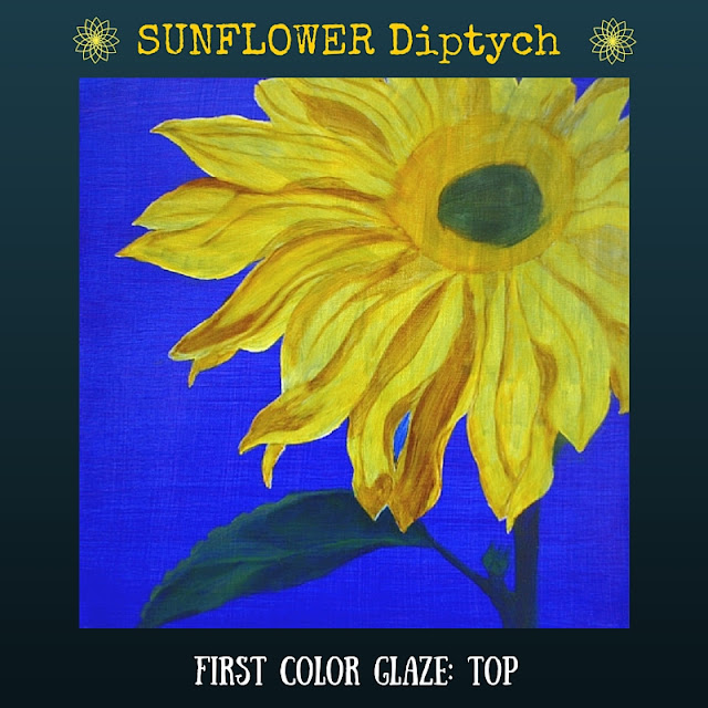 First color glazed layer for TOP Sunflower