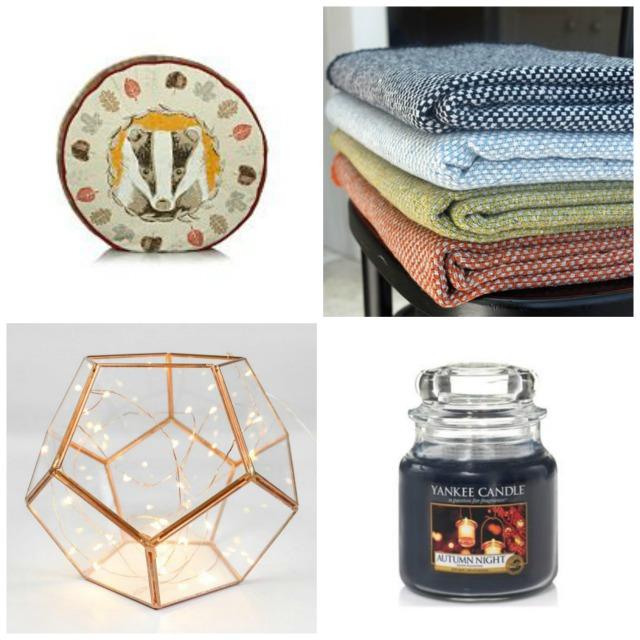 Autumn home items