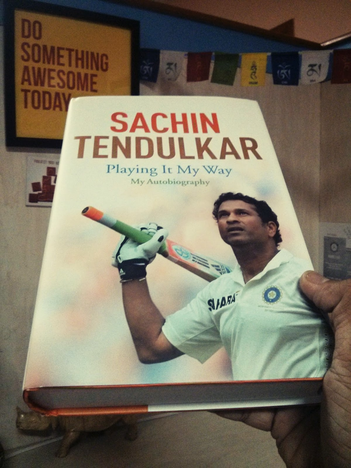 Sachin Tendulkar Book Playing It My Way