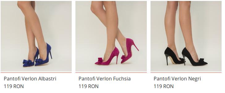 Pantofi de nunta ieftini eleganti cu toc si cu fundita