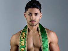 De sunga, Mister Brasil 2016, mostra corpo mais definido em ensaio