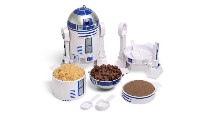 The Star Wars R2-D2 Measuring Cup Set Will Help You Use The Force With Your Cooking Preparation